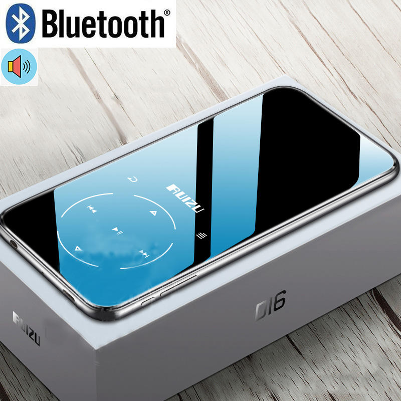 Ruizu D16 Bluetooth MP4 Player 2.4 Inci Layar FM Radio Perekam Suara E-book Portable Audio Video Player Bulit-in speaker