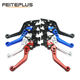 Aluminum Adjustable Motorcycle Brake Clutch Levers Master Cylinder Clutch Lever For Sport Bike Street Bike Scooter