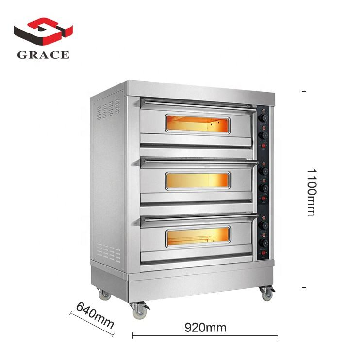 Multifunction Commercial Kitchen Baking Bread Pizza Cake Cooking Gas Electric Oven