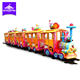 theme park amusement rides mini electric track train for sale,kiddie rides train with railway