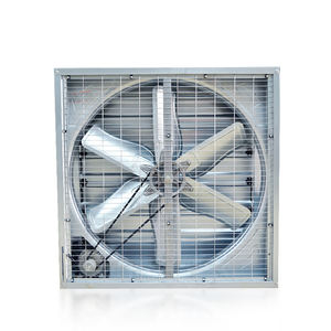 Industrial Ventilation Exhaust Fan with Cooling Pad for Greenhouse and Poultry Farming