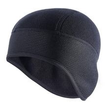 Outdoor Sports Cycling Cap Bicycle Bike Helmet Liner Running Skiing Fleece Windproof Warm Bandana Winter Caps Hat