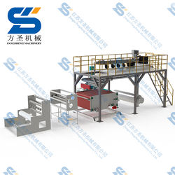 Customer first--PP melt blown nonwoven extruder production line