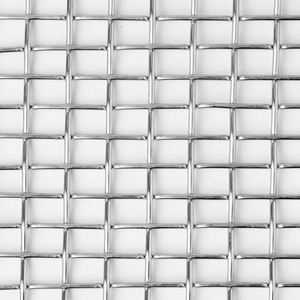 Decorative Strong flat top crimp Weave woven metal mesh architectural stainless steel wire mesh