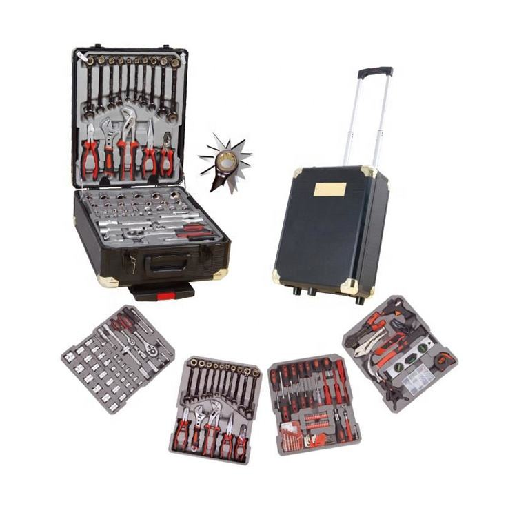 Golden Ratchet Wrench 286pcs Swiss Kraft Tool Trolley Box set