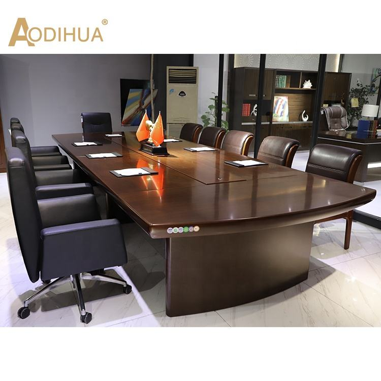 Customized executive office staff meeting rooms table large size conference table