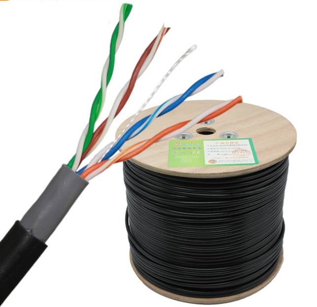 1000ft CU copper CCA Cat 5 Network Cable 24AWG UTP Cat5e Cable 305 meters 1000ft