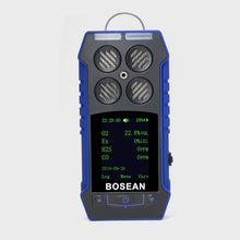Bosean detector de gas analyzer ATEX certified Portable multi gas detector for CO, O2, H2S, LEL, CH4