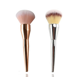 Single Cosmetics Mineral Brushes Cruelty Free Face Powder Brushes Professional Flat Foundation and Powder Makeup Brush