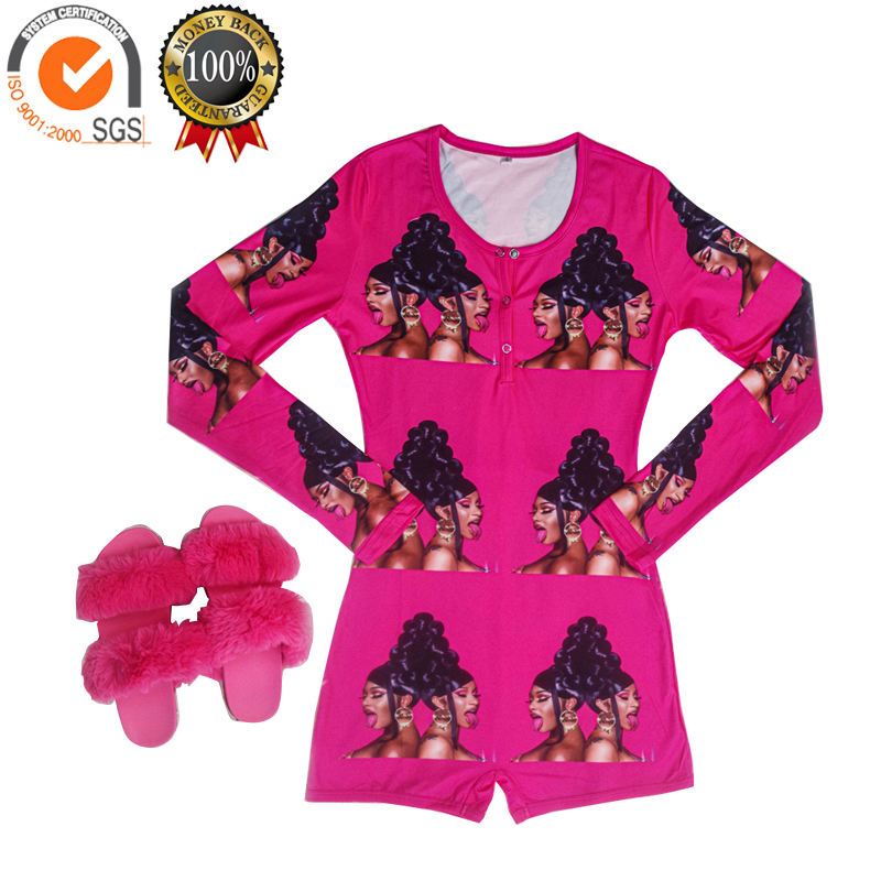 Hight Quality Factory hot sale for set sets womens satin silk women pajama WAP onsie adult onesie pajamas