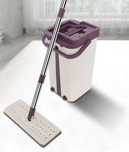 Factory Price Household Eco Adjustable Spin Stick Mop 360 Rotating Spray Floor Cleaning Mop And Bucket Set