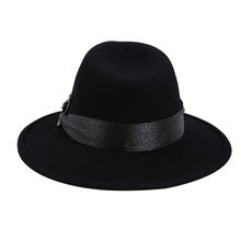 wool felt winter hats made in China fedora hats unisex