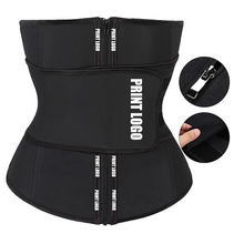 Oem Custom Logo Abdominal High Compression Waist Trimmer 7 Steel Boned Latex Waist Trainer