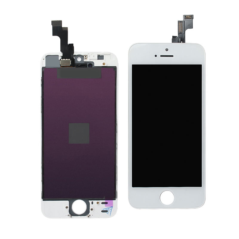 Wholesale AAA high quality LCD touch screen digitizer assembly for iPhone 4 4s 5 5 mobile phone display