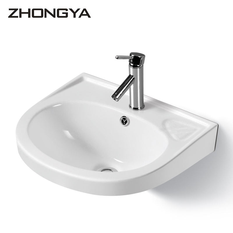 Chaozhou ceramic hand basin sink bathroom wall mounted wash basin