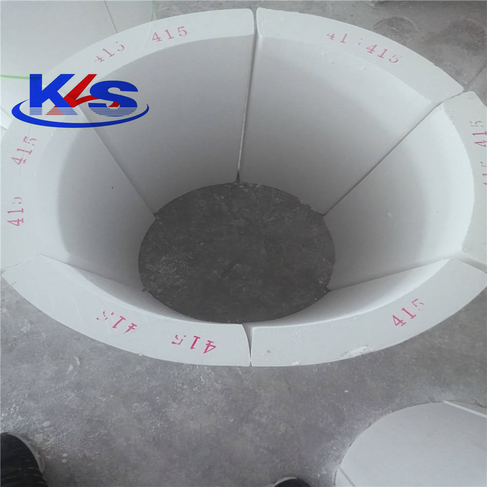 Calcium silicate pipe/cover non-asbestos thermal insulation material
