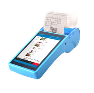 Android 8,0 Handheld pos terminal touchscreen handy pos systeme mit gebaut-in drucker supportin NFC WIFI Bluetooth