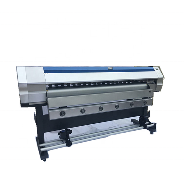 1.8m ECO Solvent Printer Bus Sticker Plotter Canvas Inkjet Printer Flex Banner 1440dpi Large Format Printing Machine