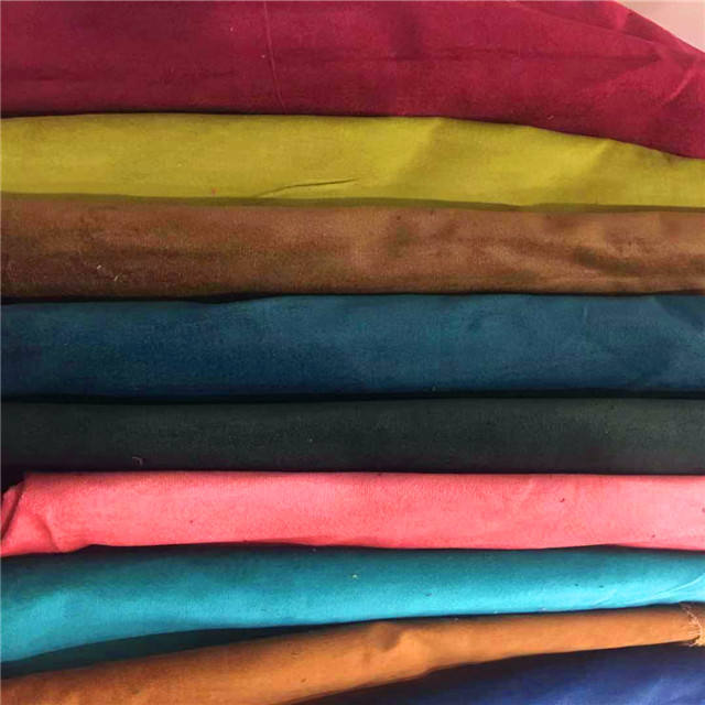 ready stock fabric cotton velour at competitive price