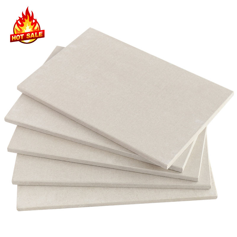 6/8/9/10/20/25mm cheap lowes price fireproof fire resistant calcium silicate insulation board/panel