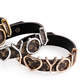 Wholesale Fashion Luxury Jewelry Women Bangles Leather Bracelet