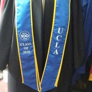 Custom College University Custom Graduation Stoles Plain Printed Embroidered Stoles Mix Color
