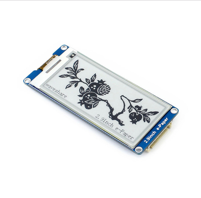 low price 2.9 inch 2.9inch e-ink epaper display color screen support partial refresh