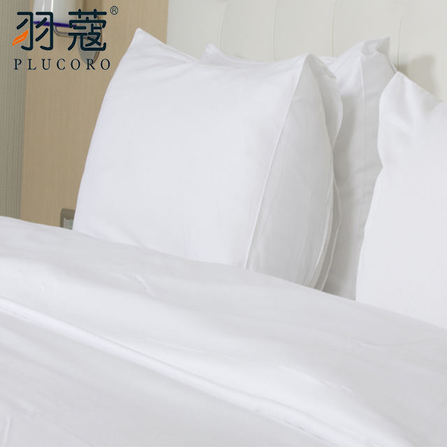 OEM Factory Hotel Collection Dubai White Bed Sheets 100 Cotton Duvet Cover Bedding Set