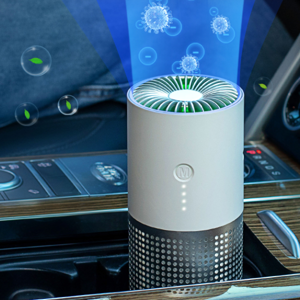 Factory Wholesale Europe's Best-Selling Products Family Essential Portable Car Ionizer Air Purifier For Car Bedroom Office