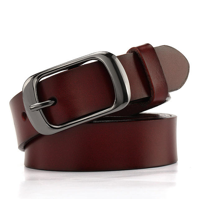 Cheap Bulk Sale 135cm Fashion Long Waist Buckle Leather Belt for Women