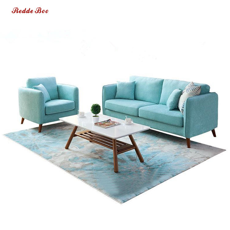 Relax and blue fabric sofa couch living room sofa modern house couch furniture with price list 3607