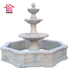 Modern Outdoor Natural Stone Large Garden Marble Stone Water Fountain Sale