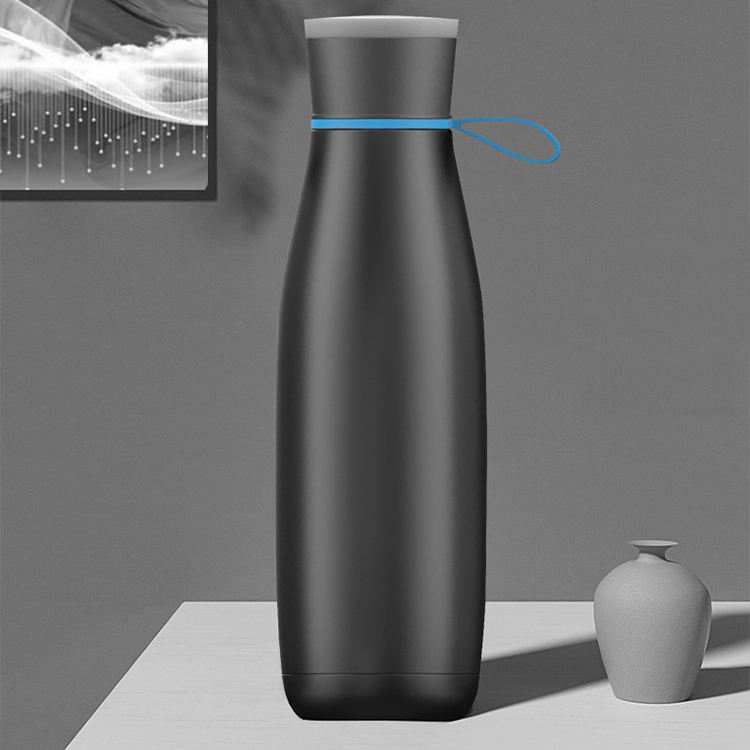 2020 Fashion Bluetooth speaker waterproof music bottle double wall vacuum insulated stainless steel water bottle fashion playthi