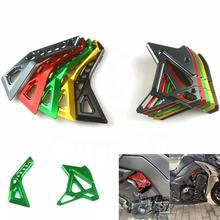 Motorbike CNC Aluminum Front Sprocket Chain Guard Cover Left Side Engine For KAWASAKI Z1000 2014-2019