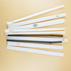 White Paper Sleeves for Straws Packing