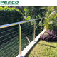 Handrail System High Quality Outdoor Firm Handrail Rope Balustrade 4 6 8 10 Mm Wire Vertical Cable Railing System For Decking