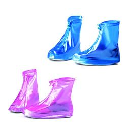 Fashion Waterproof Shoes Cover Rain Snow Reusable Protective