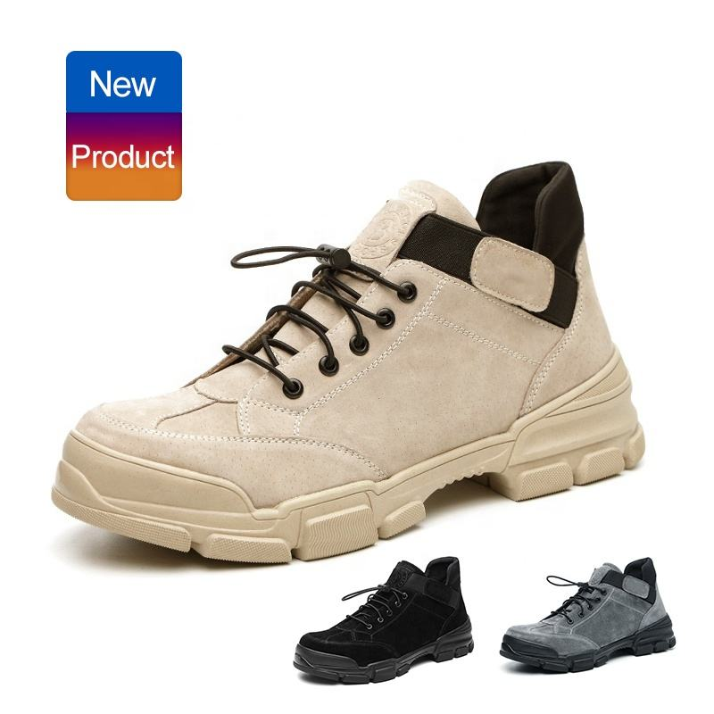 Indestructible Steel toe Cap Industrial Shoes Anti puncture and slip Men Safety Shoes for electrician