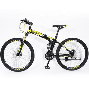 26 Inch Hot Selling Aluminium 6061 Frame Achterwielophanging Aangepaste Opvouwbare Mountainbike