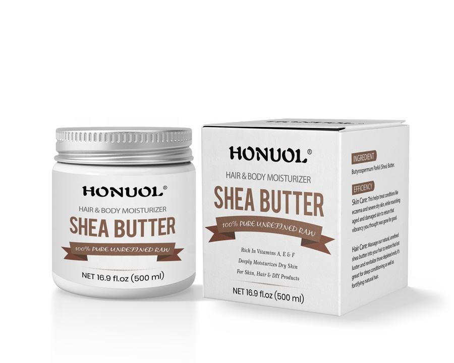 Manufacturer Supply Private Label Unrefined Pure And Organic Shea Butter for Skin Care, Hair Care & DIY Recipes