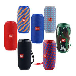 Portable Speaker TG117 Waterproof Bluetooth Speaker Outdoor Subwoofer Bass Wireless Speakers Loudspeaker FM TF