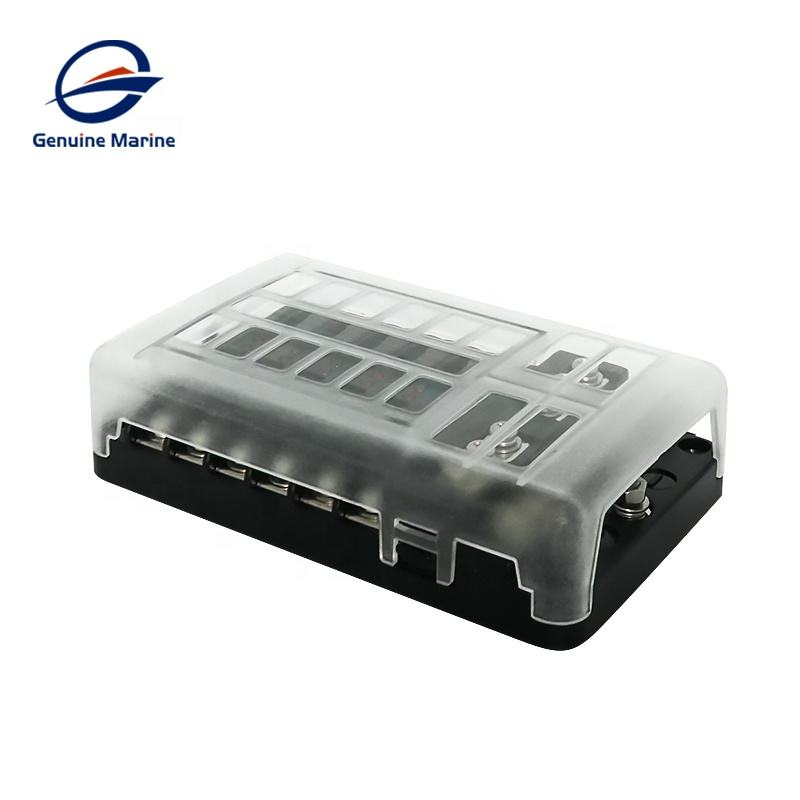 High Quality Boat Car Auto 12Way Fuse Box