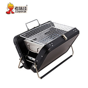 Großhandel Professionelle Tragbare Outdoor Edelstahl Indoor Holzkohle Grill BBQ Grill
