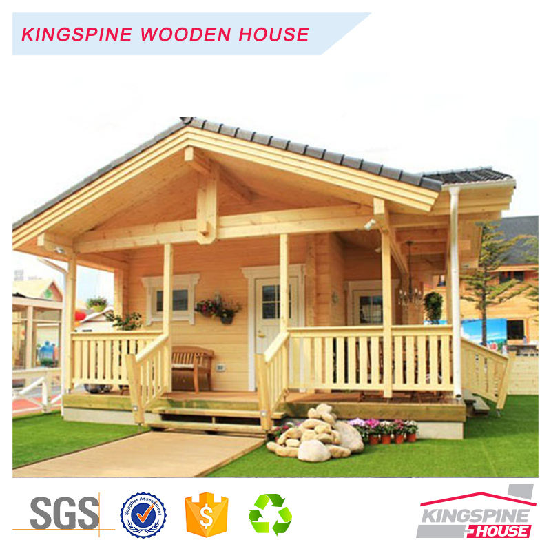 ไม้ solid log บ้าน prefab prefabricated house cabin KPL046