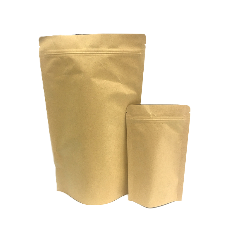 Ecology In Stock Fast Delivery Promotion Export Flat Bottom Kraft Paper Bag For Milk Powder