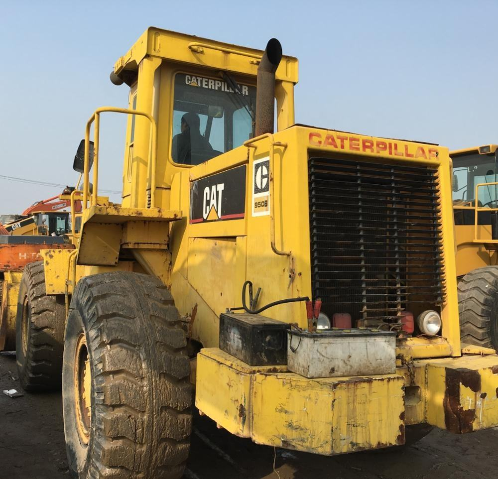 Used machine 950B 966G 980G 966E 950E 966H wheel loader for sale in Shanghai