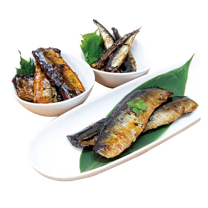 TSUKUDA-NI appetizer fresh import export fish seafood in can