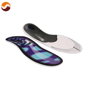 Customized Comfortable Screen Printing Designs Foot Massage Orthotic Insoles