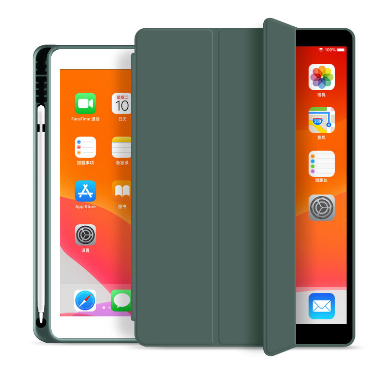 For iPad 10.2 inch 2019 tablet case with auto sleep and wake for iPad generation 7 th