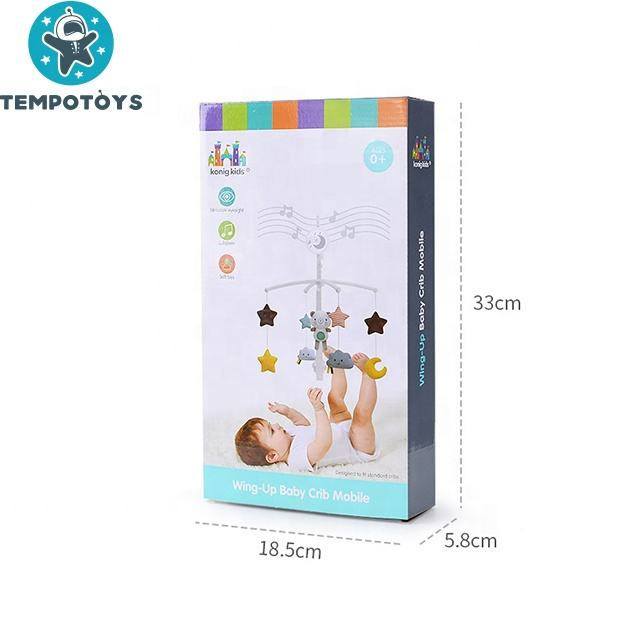 Mobile Baby Tempo Infant Musical Bed Bell Box Crib Baby Mobiles For Newborn